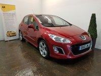 2012 PEUGEOT 308 1.6 E-HDI ALLURE 5d 112 BHP £4990.00