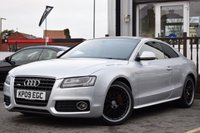 USED 2009 09 AUDI A5 2.7 TDI S LINE 3d AUTO 187 BHP FSH 5 SERVICE HISTORY STAMPS. GREAT SPEC, AND GREAT LOOKING AUDI A5