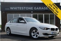 USED 2015 15 BMW 3 SERIES 2.0 320D EFFICIENTDYNAMICS 4d 161 BHP SATELLITE NAVIGATION, ONLY £20 ROAD TAX, FSH, CRUISE.