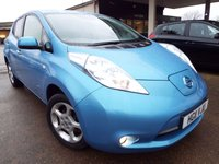 2011 NISSAN LEAF 0.0 EV AUTO 5d AUTO 107 BHP £5995.00