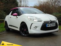 USED 2012 62 CITROEN DS3 1.6 DSTYLE PLUS 3d 120 BHP * 128 POINT AA INSPECTED *