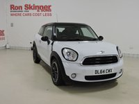 USED 2014 64 MINI PACEMAN 1.6 COOPER D 3d 111 BHP with Pepper Pack