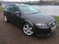 USED 2007 57 AUDI A3 2.0 SPORTBACK TDI S LINE DPF 5d 168 BHP **UNWANTED PART EXCHANGE**