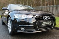 USED 2011 61 AUDI A6 2.0 TDI SE 4d 175 BHP A STUNNING A6 WITH FULL LEATHER, SAT NAV, BLUETOOTH, FULL HISTORY........