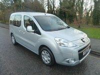 2011 PEUGEOT PARTNER TEPEE 1.6 HDi 5 Seat Wheelchair Access Vehicle £7000.00