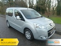 2011 PEUGEOT PARTNER TEPEE 1.6 HDi 5 Seat Wheelchair Access Vehicle £7000.00