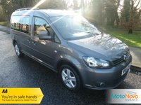 2014 VOLKSWAGEN CADDY MAXI 1.6 C20 LIFE TDI BLUEMOTION TECHNOLOGY 5d 101 BHP £13900.00