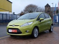 USED 2011 60 FORD FIESTA 1.4 TITANIUM 5d  7 FORD SERVICES ~ BLUETOOTH ~ CLIMATE ~ ALLOYS ~ CRUISE CONTROL