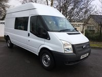 2014 FORD TRANSIT 350 2.2 125 BHP RWD H/R 9 SEATER **70 VANS IN STOCK** £8350.00