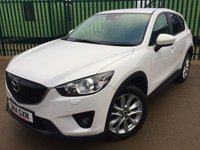USED 2014 14 MAZDA CX-5 2.2 D SPORT NAV 5d 173 BHP AWD SAT NAV LEATHER 19 ALLOYS PRIVACY NOW SOLD.