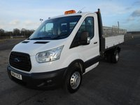 USED 2014 64 FORD TRANSIT TIPPER 350 L2 RWD DRW 125ps (1-Stop)