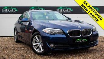 2010 BMW 5 SERIES 2.0 520D SE 4d 181 BHP £7199.00