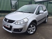 USED 2010 60 SUZUKI SX4 2.0 SZ5 DDIS 5d 133 BHP 4WD TOP OF RANGE AIR CON ALLOYS FSH NO FINANCE REPAYMENTS FOR 2 MONTHS STC. 4WD. STUNNING SILVER MET WITH GREY CLOTH TRIM. CRUISE CONTROL. 16 INCH ALLOYS. COLOUR CODED TRIMS. AIR CON. R/CD PLAYER. 6 SPEED MANUAL. MFSW. ROOF BARS. MOT 11/18. FULL SERVICE HISTORY. FCA FINANCE APPROVED DEALER. TEL 01937 849492