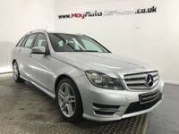 USED 2013 62 MERCEDES-BENZ C CLASS 3.0 C350 CDI BLUEEFFICIENCY AMG SPORT 5d AUTO 262 BHP