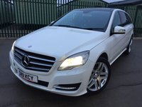 USED 2011 11 MERCEDES-BENZ R CLASS 3.0 R350 CDI 4MATIC 5d AUTO 265 BHP FACELIFT 7 SEATER PAN ROOF SAT NAV LEATHER REAR SCREENS FSH NOW SOLD.