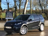 USED 2015 15 LAND ROVER DISCOVERY SPORT 2.2 SD4 SE TECH 5d AUTO 190 BHP 4x4 7 SEATS 4X4, MASSIVE SPEC, FULL LEATHER (HEATED) SEATS, DAB, SAT NAV, FRONT AND REAR PARKING SENSORS