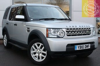 2010 LAND ROVER DISCOVERY 2.7 4 TDV6 COMMERCIAL 1d AUTO 190 BHP £10500.00