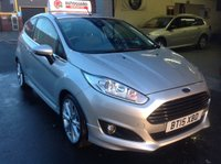 USED 2015 15 FORD FIESTA 1.0 TITANIUM 3d   One Owner.....Zero Road Tax