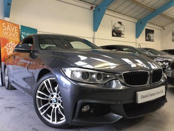 2015 BMW 4 SERIES 2.0 420D M SPORT 2d AUTO 188 BHP £18490.00