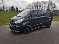 2015 FORD TRANSIT CUSTOM 2.2 290 LIMITED LR 125 BHP L2 LWB RS STYLING PACK £14750.00
