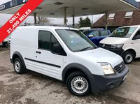 USED 2013 13 FORD TRANSIT CONNECT 1.8 T200 LR 1d 74 BHP Only 21,490 Miles, Roof Bars, Platinum Warranty Plan Up To 36 Months Available.