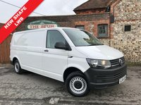 USED 2016 66 VOLKSWAGEN TRANSPORTER 2.0 T30 TDI P/V STARTLINE BMT 1d 102 BHP Long Wheel Base, New Shape, Low Mileage, Competitive Low Rate Finance Available.