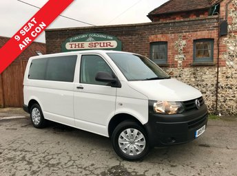 2015 VOLKSWAGEN TRANSPORTER 9 Seat Shuttle Bus 2.0 T30 TDI W/V BLUEMOTION TECHNOLOGY 1d 113 BHP £14995.00