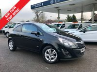 USED 2014 14 VAUXHALL CORSA 1.2 SPORTIVE CDTI 1d 94 BHP Air Conditioning, One Owner, Alloy Wheels, Finance Arranged.