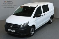 USED 2015 65 MERCEDES-BENZ VITO 1.6 111 CDI 5d 114 BHP LWB AIR CONDITION CRUISE CONTROL 6 SEAT COMBI VAN ONE OWNER FROM NEW