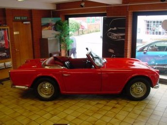 View our TRIUMPH TR4