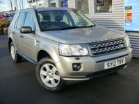 2012 LAND ROVER FREELANDER 2.2 TD4 GS 5d 150 BHP £11980.00