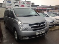 USED 2011 11 HYUNDAI I800 2.5 STYLE CRDI 5d 168 BHP Diesel, 8 seater mpv, great value, probably the best on the nett, 67000 miles.