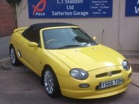 USED 2001 Y MG MGF 1.8 TROPHY VVC 160 2d