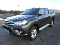 2017 TOYOTA HI-LUX DOUBLE CAB 2.4 ICON 4WD D-4D 150ps £19450.00