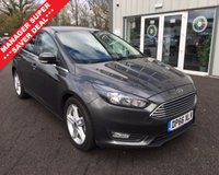USED 2016 66 FORD FOCUS 1.5 TDCI ZETEC 120 BHP THIS VEHICLE IS AT SITE 2 - TO VIEW CALL US ON 01903 323333