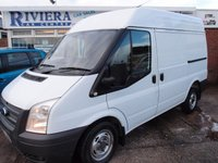 USED 2012 12 FORD TRANSIT 2.2 280 1d 99 BHP