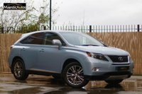 2012 LEXUS RX 3.5 450H ADVANCE PAN ROOF 5d AUTO 295 BHP £17495.00