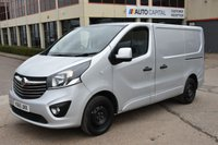 USED 2015 65 VAUXHALL VIVARO 1.6 2900 L1H1 CDTI P/V SPORTIVE 5d 114 BHP A/C ECO  ONE OWNER FROM NEW, FULL SERVICE HISTORY