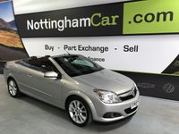 2007 VAUXHALL ASTRA TWIN TOP DESIGN £2295.00