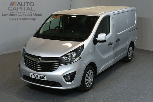 2015 65 VAUXHALL VIVARO 1.6 2900 L1H1 CDTI P/V SPORTIVE 5d SWB AIR CONDITION CRUISE CONTROL ECO DRIVE ONE OWNER FROM NEW