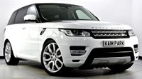 """USED 2014 64 LAND ROVER RANGE ROVER SPORT 3.0 SD V6 HSE 4X4 5dr (start/stop) Colour Coded, Privacy, 22""""s"""