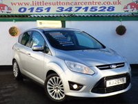 USED 2012 12 FORD C-MAX 1.6 TITANIUM TDCI 5d 114 BHP DIESEL. FULL DEALER HISTORY, KEY LESS ENTRY/START, FINANCE AVAILABLE