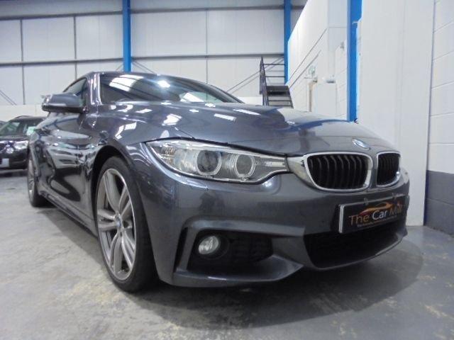 2013 63 BMW 4 SERIES 2.0 420D M SPORT 2d 181 BHP