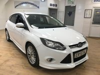 2013 FORD FOCUS 1.6 ZETEC S TDCI 5d 113 BHP £7995.00