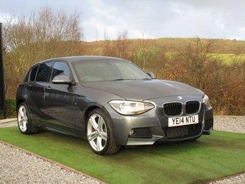 2014 BMW 1 SERIES 2.0 118D M SPORT 5d 141 BHP £13000.00