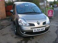 2008 RENAULT GRAND MODUS 1.6 DYNAMIQUE VVT 5d AUTO 110 BHP £4795.00