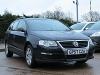 USED 2007 57 VOLKSWAGEN PASSAT 2.0 TDI SE 5d 138 BHP AUTOMATIC, ESTATE, DRIVE AWAY TODAY