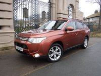 USED 2014 14 MITSUBISHI OUTLANDER 2.3 DI-D GX 3 5d 147 BHP *** FINANCE & PART EXCHANGE WELCOME *** 7 SEATS FULL LEATHER AIR/CON CRUISE CONTROL BLUETOOTH PHONE PARKING SENSORS