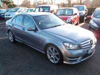 USED 2012 12 MERCEDES-BENZ C CLASS 2.1 C220 CDI BLUEEFFICIENCY SPORT 4d AUTO 168 BHP DIESEL / AUTOMATIC FAMILY CAR WITH SERVICE HISTORY, STUNNING EXAMPLE THROUGHOUT, EXCELLENT SPEC,  DRIVES SUPERBLY
