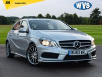 USED 2013 63 MERCEDES-BENZ A CLASS 1.8 A200 CDI BLUEEFFICIENCY AMG SPORT 5d 136 BHP This is a low mileage Mercedes A200 1.8cdi AMG Sport 5dr in silver metallic with 3 main dealer services and just 27000 miles. Spec includes leather and heated seats!